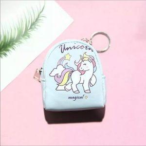 Unicorn Mini BackPack Keychain New With Tags NWT